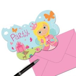 Woodland Princess Fairy Invitations