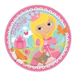 Woodland Princess Fairy Party Plates