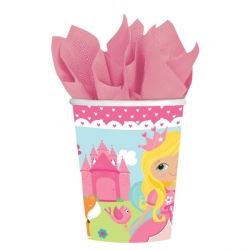 Woodland Princess Fairy Party Cups