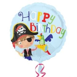 Little Pirate Party Foil Balloon