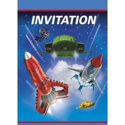 Thunderbirds Are Go Party Invitations