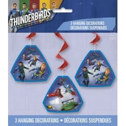 Thunderbirds Are Go Party Danglers