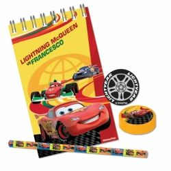 Cars Party Favour Startionary Sets