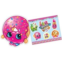 Shopkins Party Masks and Sticker Kit