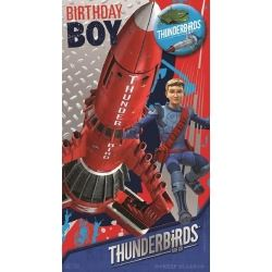 Thunderbirds Birthday Boy Birthday Cards