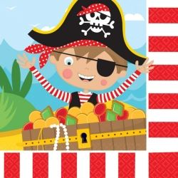 Little Pirate Party Napkins