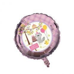 Happi Woodland Girl Foil Balloons