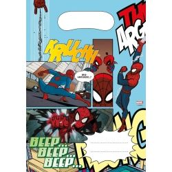Spiderman Comic Party Loot Bags
