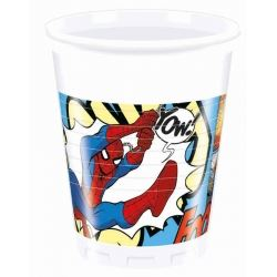 Spiderman Comic Party Cups