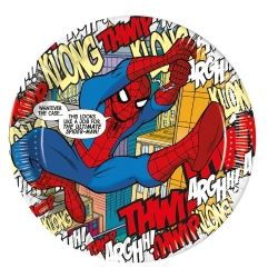 Spiderman Comic Party Plates
