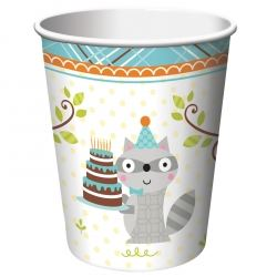Happi Woodland Boys Party Cups