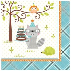 Happi Woodland Boy Party Napkins