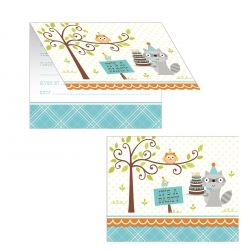 Happi Woodlands Boy Party Invitations