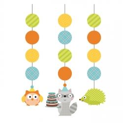Happi Woodland Boy Party Danglers