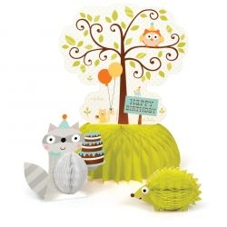 Happi Woodland Boy Party Centrepiece Decoration