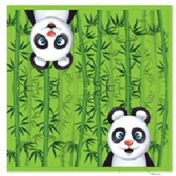 Panda Party Napkins