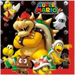 Super Mario Party Napkins