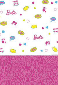 Barbie Fab Paper Party Tablecovers