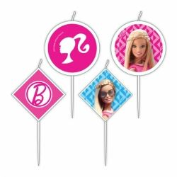 Barbie Sparkle Party Candles