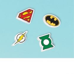 Justice League Party Favours Erasers