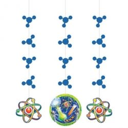 Mad Scientist Big Bang Theory Party Hanging Decorations