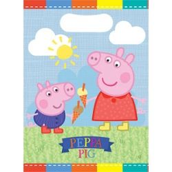 Peppa Pig Summer Party Loot Bags