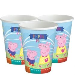 Peppa Pig Summer Party Cups