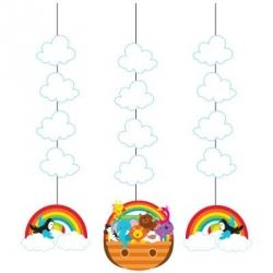 Noah's Ark Party Danglers