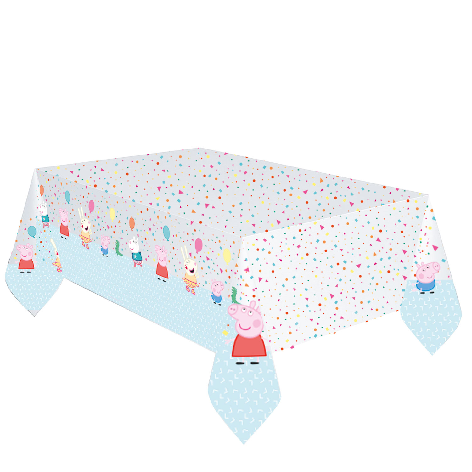 Peppa Pig Rainbow Party Tablecovers