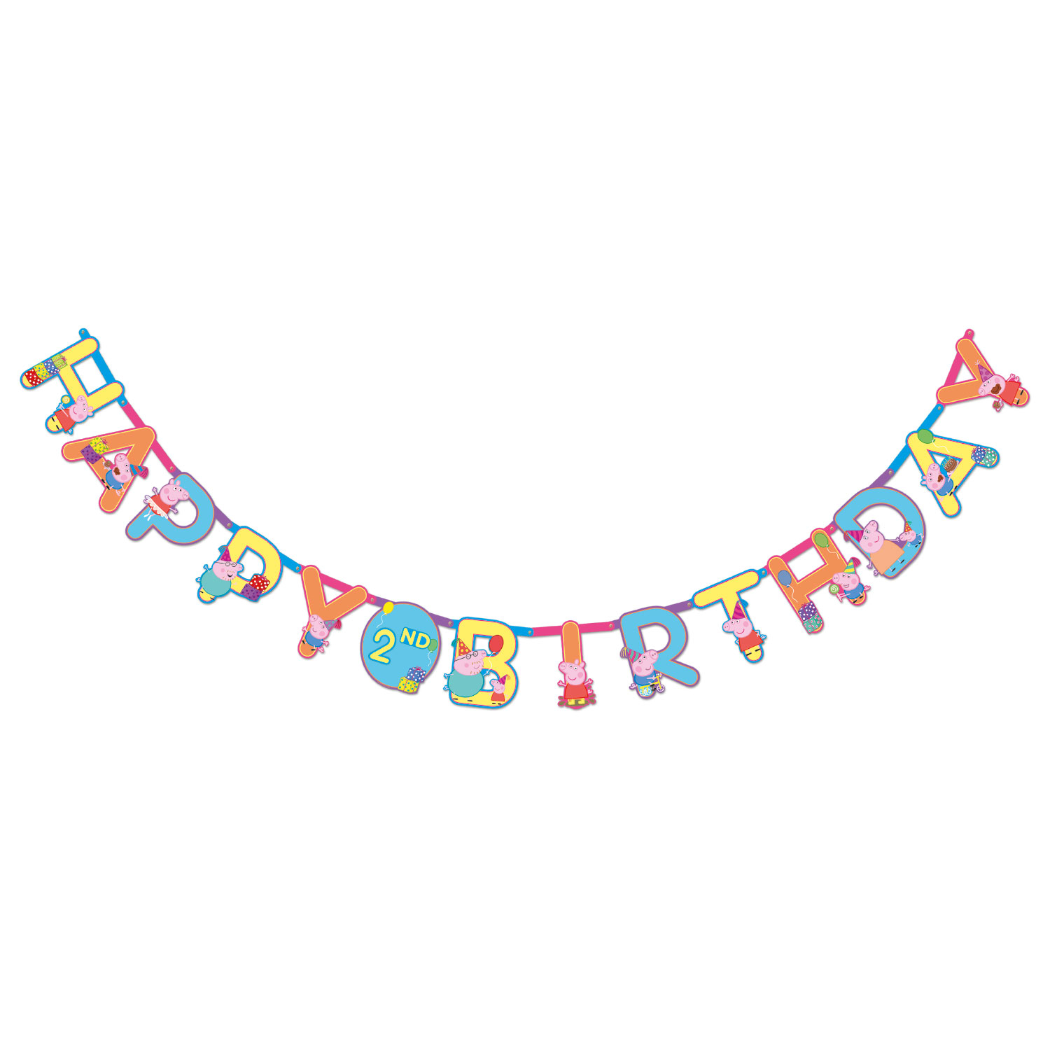 Peppa Pig Jumbo Add An Age Party Banner Kit