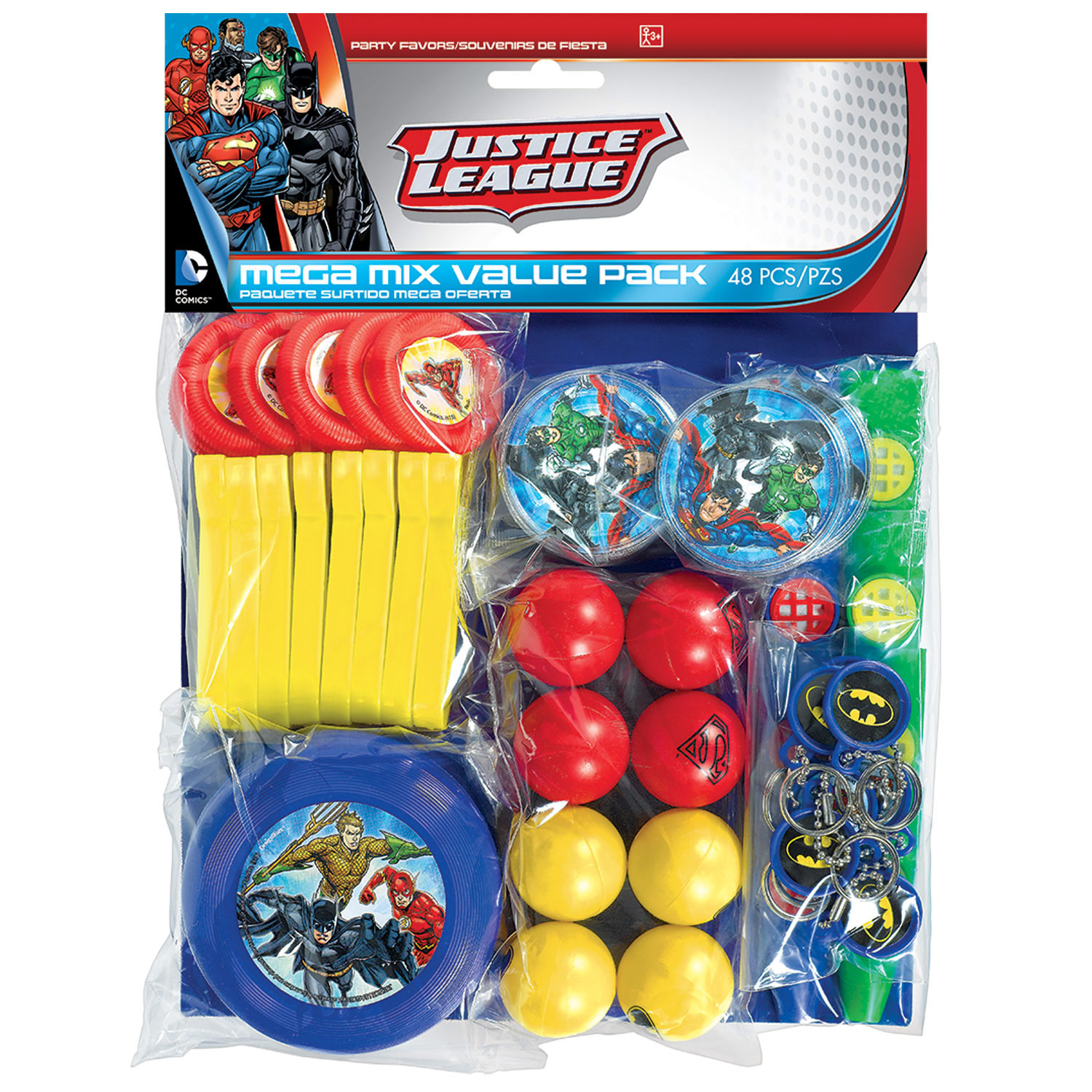 Justice League Party Favour Pack