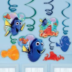 Finding Dory Party Swirls