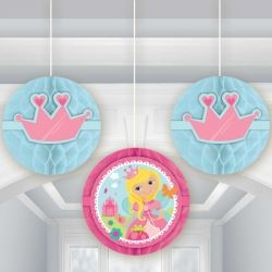 Woodland Princess Fairy Party Honeycomb Danglers