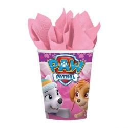 Paw Patrol Pink Party Cups