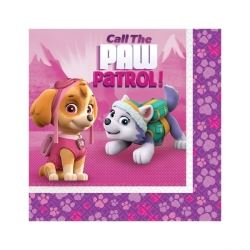 Paw Patrol Pink Party Napkins