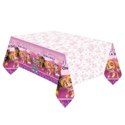 Paw Patrol Pink Party Tablecovers