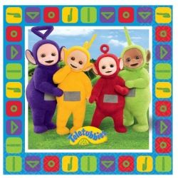 Teletubbies Party Napkins