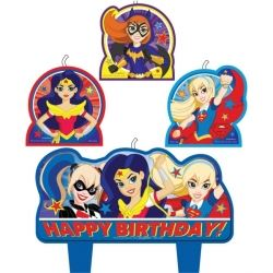 DC Super Hero Girls Party Candles