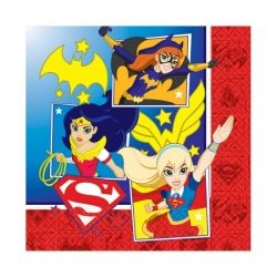 DC Super Hero Girl Party Napkins