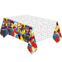 DC Super Hero Girl Party Tablecover