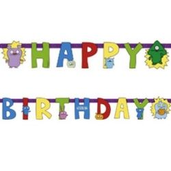 Ugly Dolls Party Happy Birthday Banner
