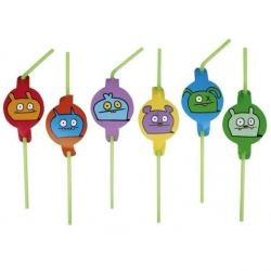Ugly Dolls Party Straws