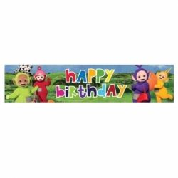 Teletubbies Party Holographic Banner