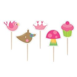 Woodland Princess Fairy Party Candles