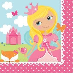 Woodland Princess Fairy Party Napkins