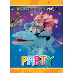 The Clangers Party Invitations