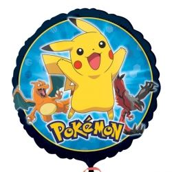 Pokemon & Friends Party Foil Balloons