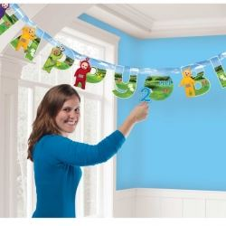 Teletubbies Add An Age Party Banner