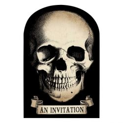 Boneyard Halloween Party Invitations
