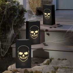 Boneyard Halloween Luminary Bags